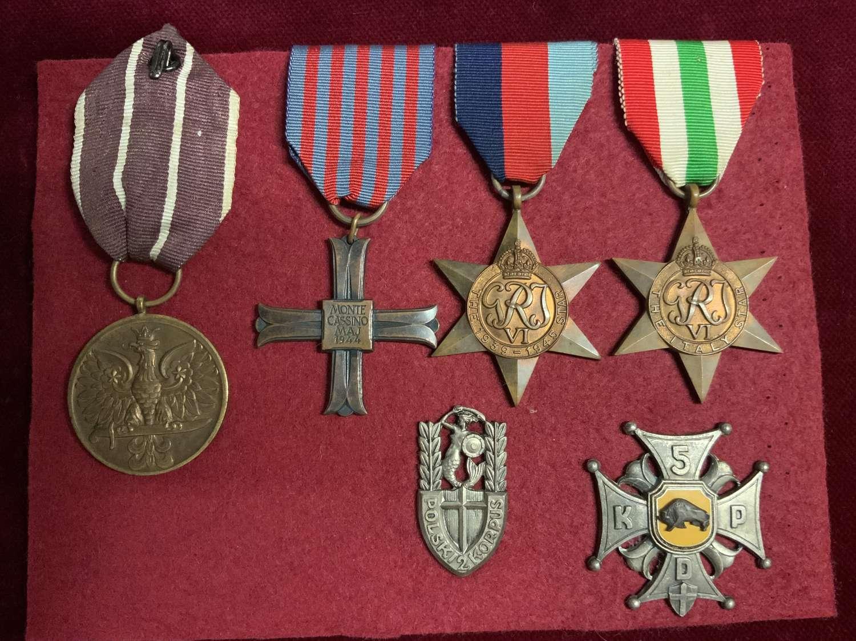 Monte Cassino Medal & Insignia Group.