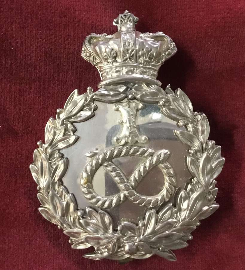 1st Staffordshire Rifle Volunteers Officers Shoulder Belt Plate