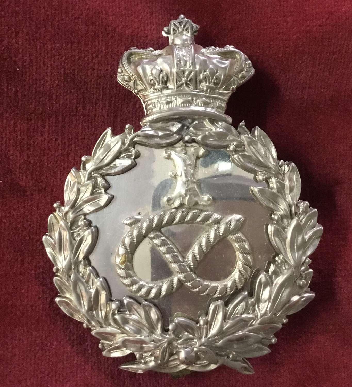 1st Staffordshire Rifle Volunteers Officers Shoulder Belt Plate