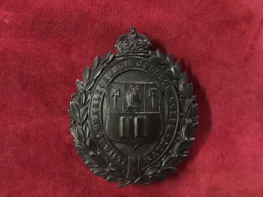 Marlborough College Corps - 2nd Wiltshire VB Shoulder Belt Plate