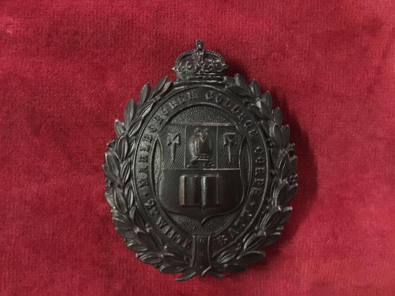 Marlborough College Corps - 2nd Wiltshire VB Shoulder Belt Plate