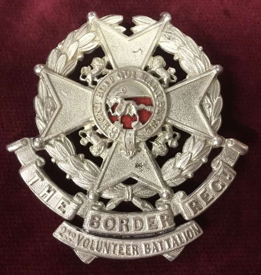 2nd Volunteer Bn Border Regt Glengarry Badge