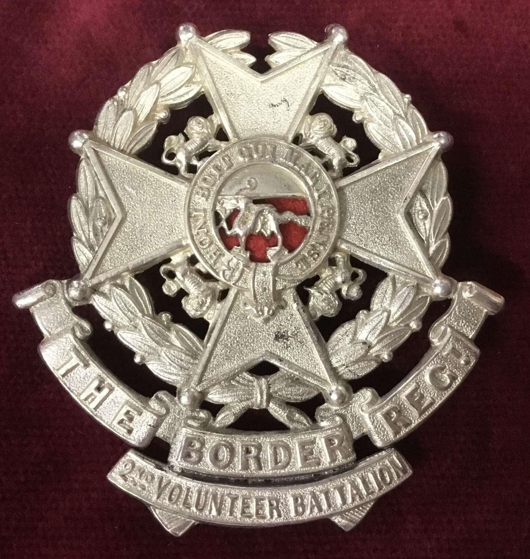 2nd Volunteer Bn Border Regt Glengarry Badge