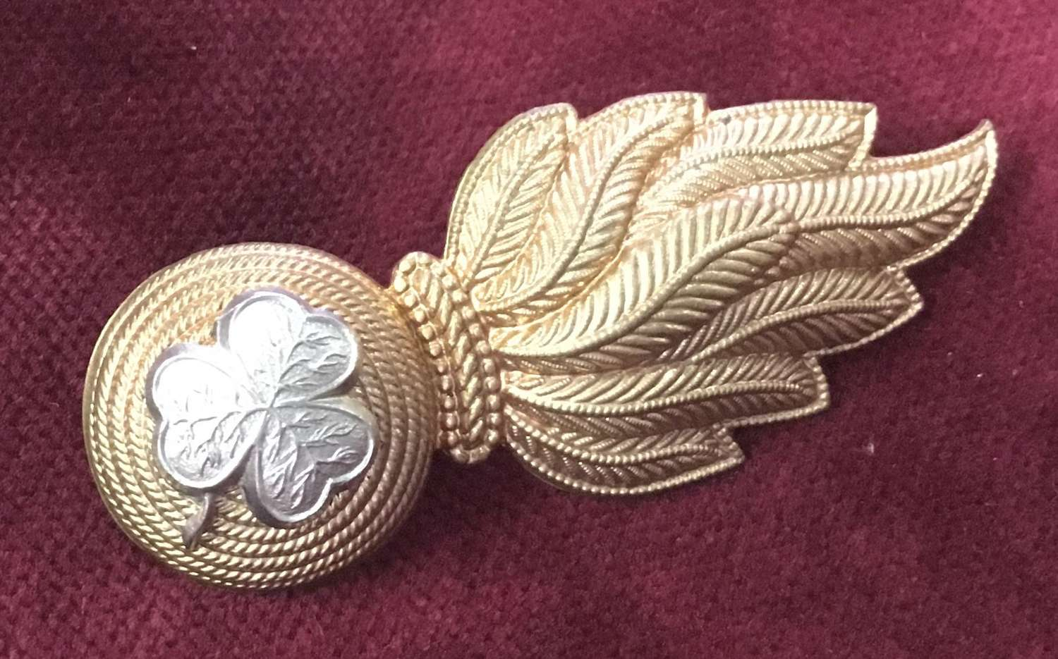 Royal Irish Fusiliers Reserve Regt Cap Badge