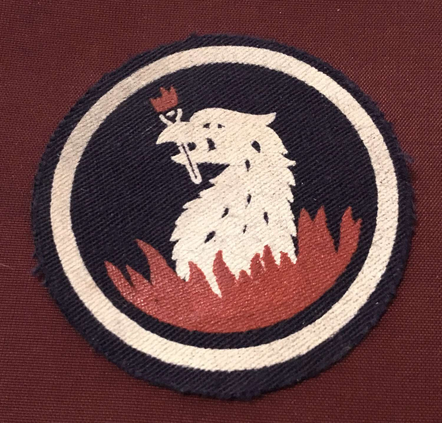 219th Independent Infantry Brigade formation Sign