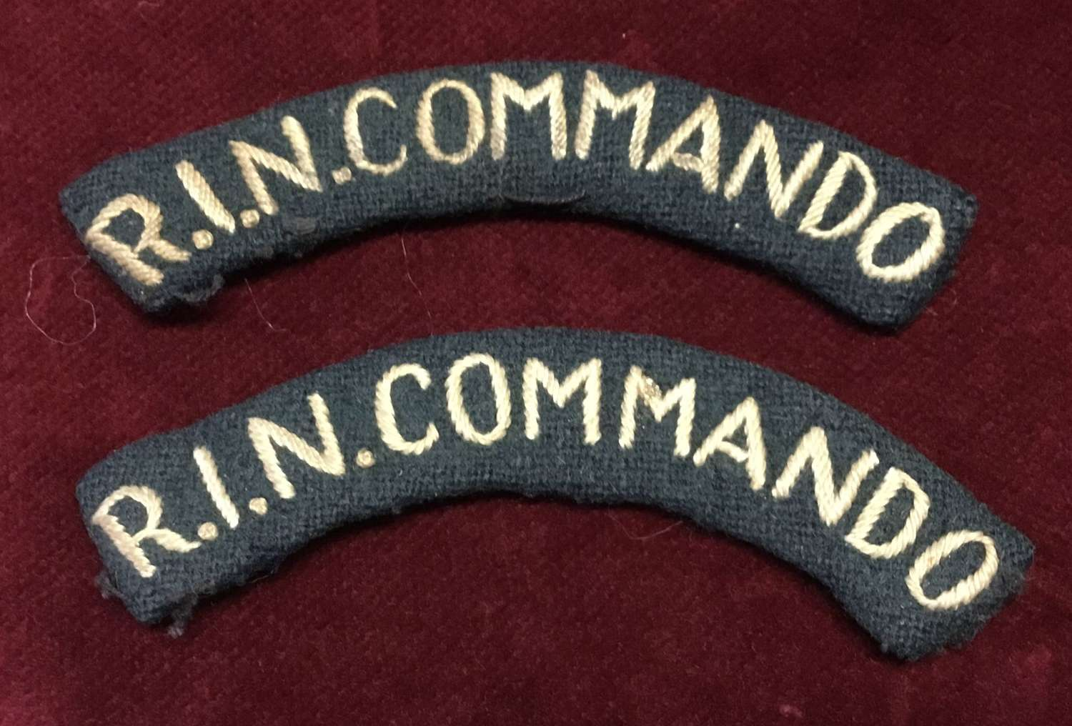 Royal Indian Navy Commando Shoulder Title