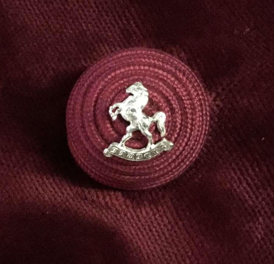 Queens Own Royal West Kent Regt Officers Boss Badge