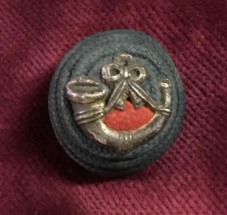Durham Light Infantry Officers Boss Badge