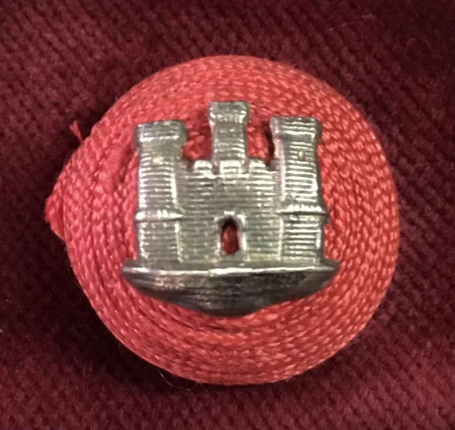 Suffolk Regiment Officers Boss Badge 3 tower