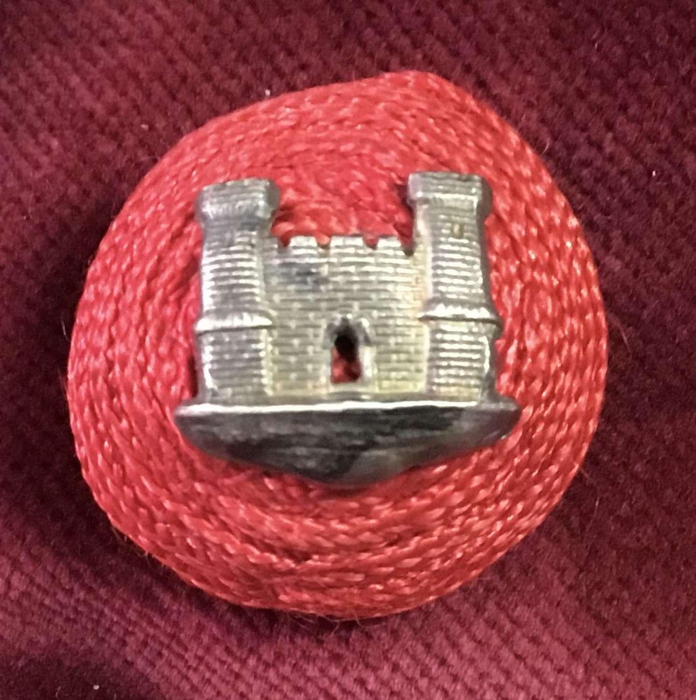 Suffolk Regiment 2 Tower Officers Boss Cap Badge