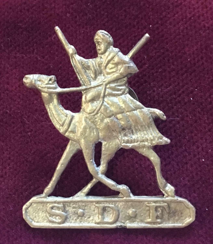Sudan Defence Force Headress Badge