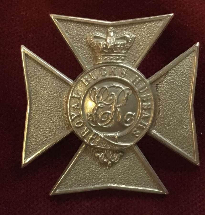 Royal Buckinghamshire Hussars Cap Insignia