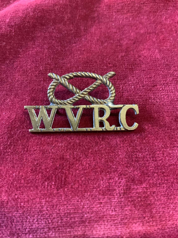 Wolverhampton Volunteer Rifle Corps,