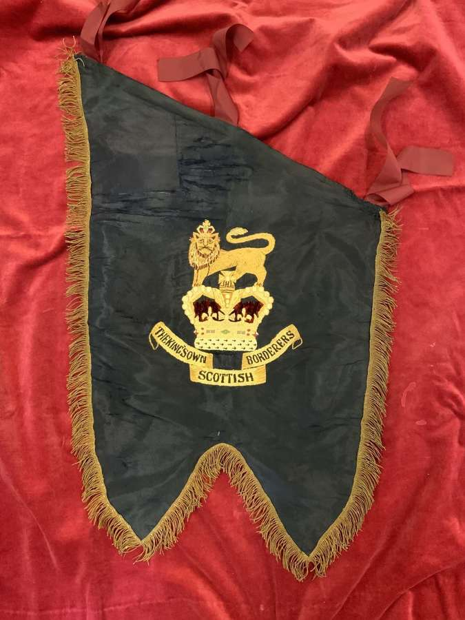 Kings Own Scottish Borderers 2nd Battalion Pipe Banner