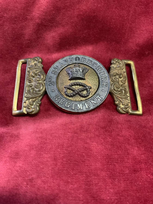 2nd Staffordshire Regiment, 64th Foot. Officers Waist Belt Clasp