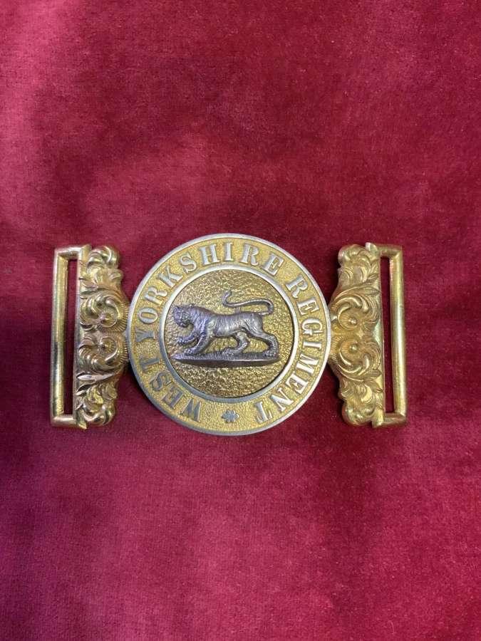 West Yorkshire Regiment Officers WBC