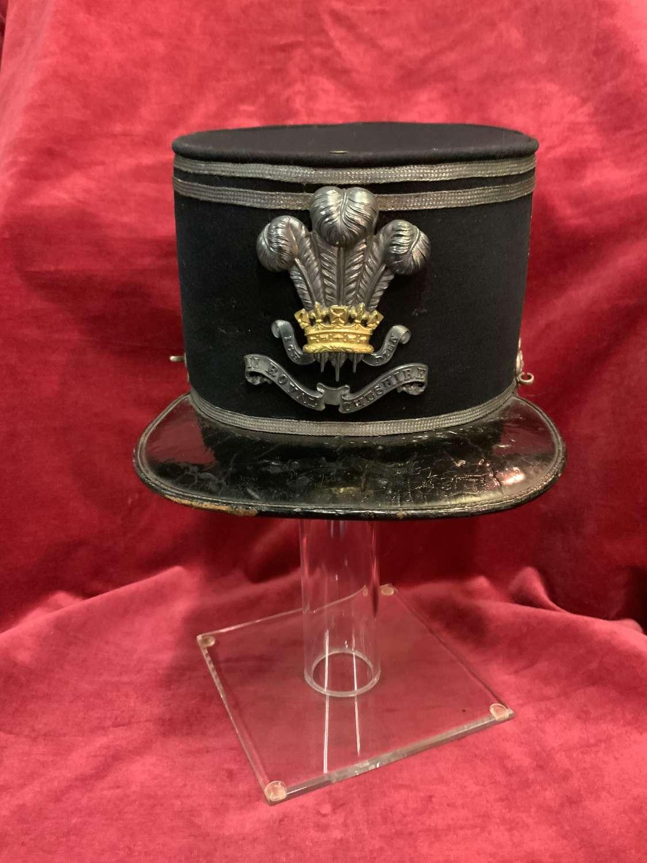 11 Royal Cheshire Militia Officers Last Pattern Shako